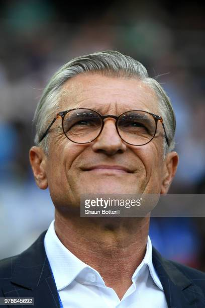 Adam Nawalka Head coach of Poland during the 2018 FIFA World Cup Russia group H match between Poland and Senegal at Spartak Stadium on June 19 2018...