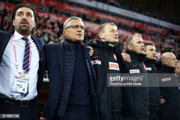 Adam Nawalka head coach team Poland during the international friendly match between Poland and Mexico on November 13 2017 in Gdansk Poland
