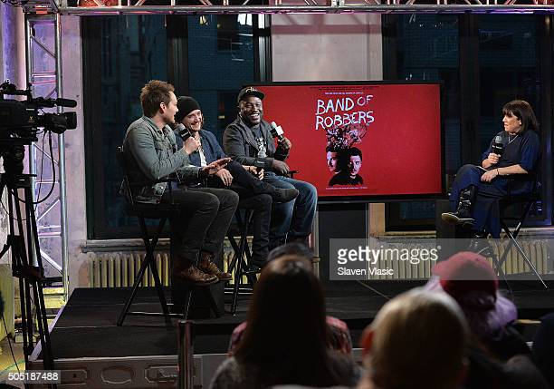 Adam Nee Kyle Gallner and Hannibal Buress discuss their upcoming film Band of Robbers at AOL Build Speaker Series at AOL Studios In New York on...