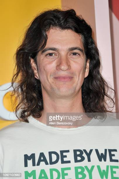 Adam Neumann attends WeWork Creator Awards Global Finals at Microsoft Theater on January 09, 2019 in Los Angeles, California.