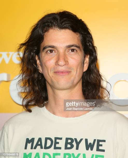 Adam Neumann attends WeWork Presents Second Annual Creator Global Finals at Microsoft Theater on January 9, 2019 in Los Angeles, California.