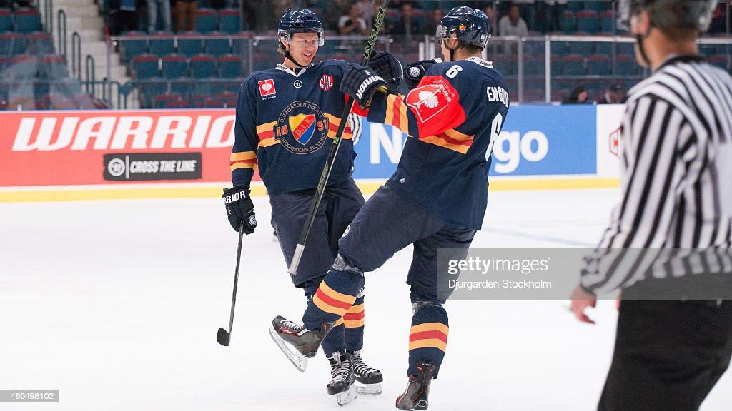 Djurgarden Stockholm v EV Zug - Champions Hockey League : News Photo