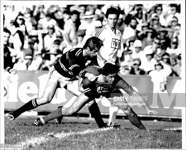 Adam O'Neil Manly V Souths at Brookvale Football ground Rugby League 1st Grade April 25 1988