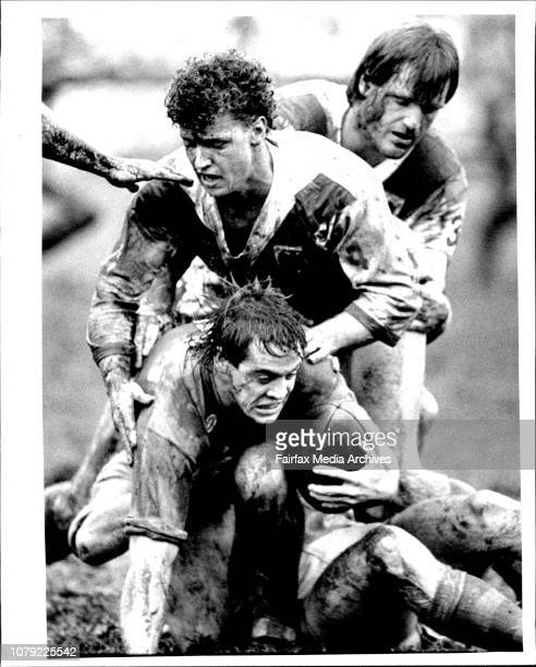 Adam O'Neil R/L at BelmoreSouths Vs St George April 4 1988