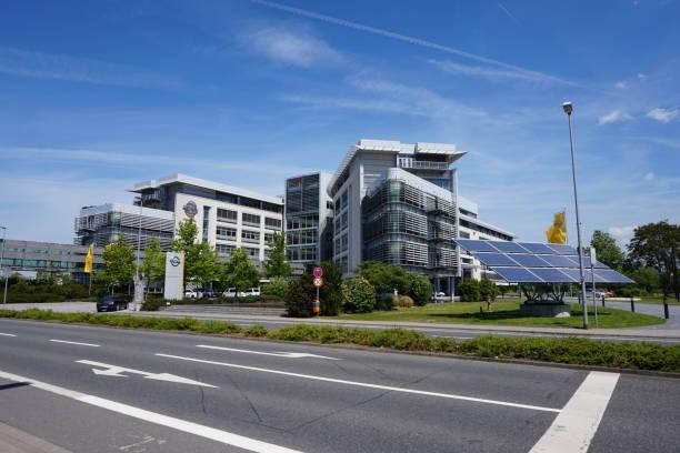 Adam Opel Building, Opel Headoffice in Rüsselsheim, Germany