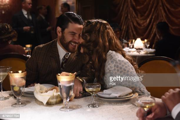 Adam Pally and Leighton Meester in the 'The Godfriender' episode of MAKING HISTORY airing Sunday April 23 on FOX