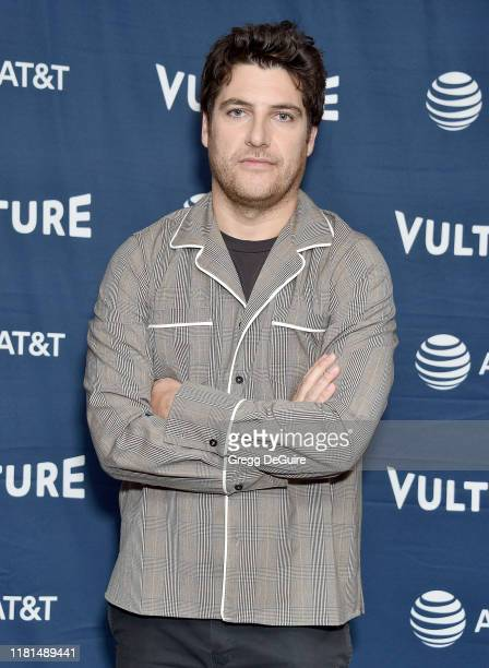 Adam Pally arrives at the Vulture Festival Los Angeles 2019 Day 2 at Hollywood Roosevelt Hotel on November 10 2019 in Hollywood California