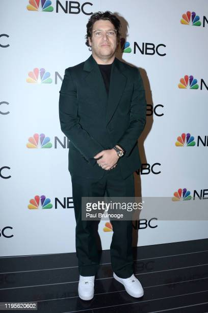 Adam Pally attends NBC And The Cinema Society Host A Party For The Casts Of NBC Midseason 2020 at Rainbow Room Gallery Bar on January 23 2020 in New...