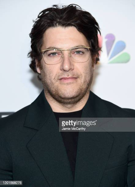 Adam Pally attends NBC and The Cinema Society host a party For the casts of NBC Midseason 2020 at The Rainbow Room on January 23 2020 in New York City