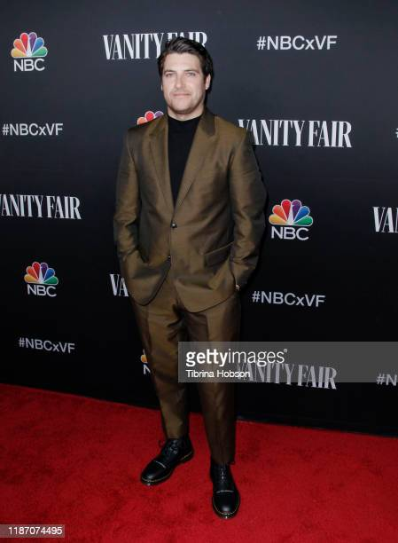 Adam Pally attends NBC and Vanity Fair's celebration of the season at The Henry on November 11 2019 in Los Angeles California