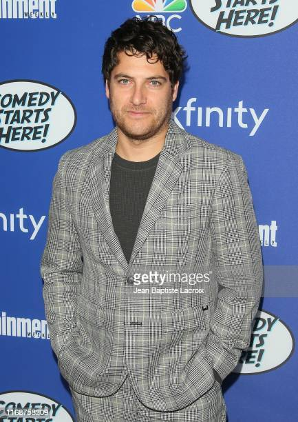 Adam Pally attends NBC's Comedy Starts Here at NeueHouse Hollywood on September 16 2019 in Los Angeles California