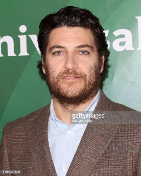 Adam Pally attends the 2020 NBCUniversal Winter Press Tour at The Langham Huntington, Pasadena on January 11, 2020 in Pasadena, California.
