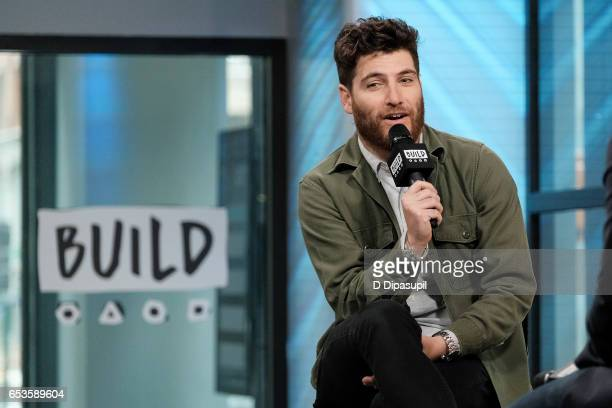 Adam Pally attends the Build Series to discuss Making History at Build Studio on March 15 2017 in New York City