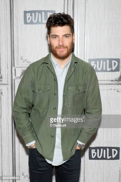 Adam Pally attends the Build Series to discuss 'Making History' at Build Studio on March 15 2017 in New York City
