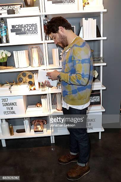 Adam Pally attends the Creators League Studio At 2017 Sundance Film  Festival Day 5 at PepsiCo s a04fc81c8a3e