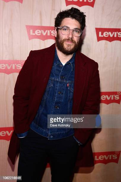 Adam Pally attends the Levi's Times Square Store Opening on November 15 2018 in New York City