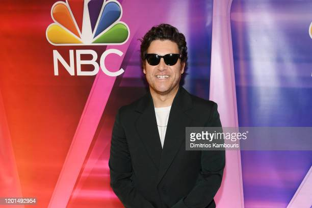 """Adam Pally from """"Indebted"""" attends the NBC Midseason New York Press Junket at Four Seasons Hotel New York on January 23, 2020 in New York City."""
