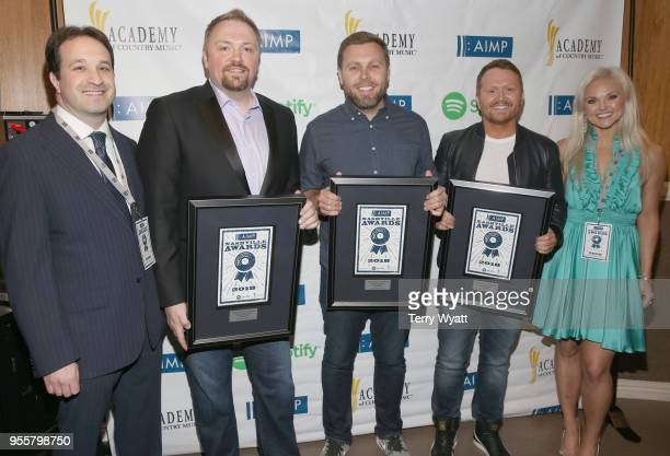 Adam Parness Global Head of Publisher Licensing for Spotify Nashville songwriters Josh Osborne Zach Crowell Shane McAnally and Head/Artist Label...