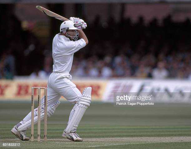 Adam Parore batting for New Zealand during the 2nd Test match between England and New Zealand at Lord's Cricket Ground London 17th June 1994