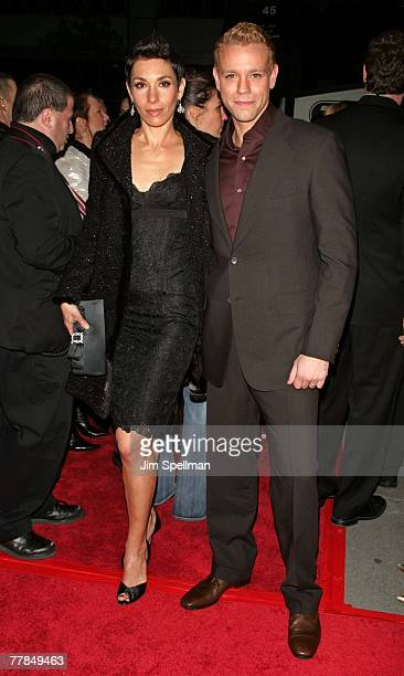 Adam Pascal and wife Cybele Chivan