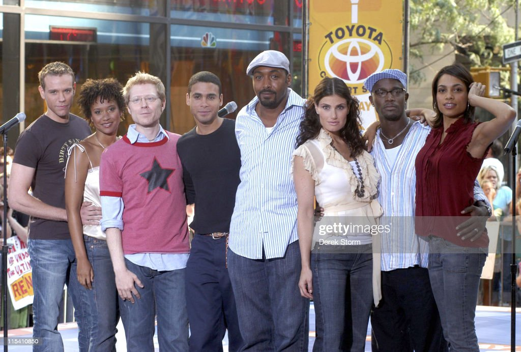 "The Cast of the Movie ""Rent"" Performs on the ""Today Show"" 2005 Summer Concert"