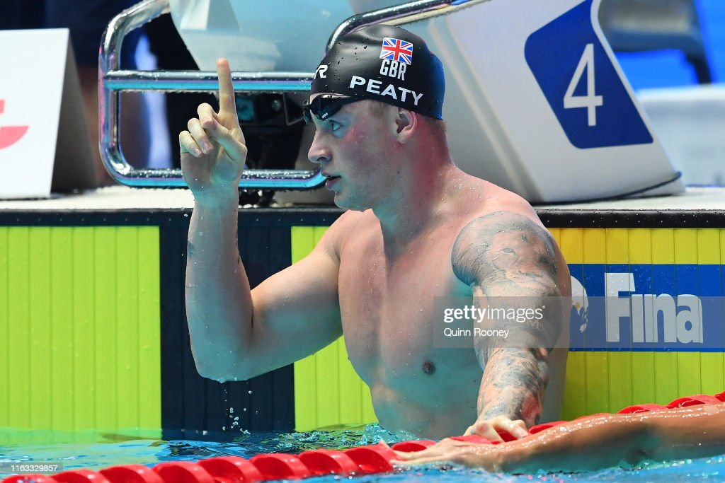 Gwangju 2019 FINA World Championships: Swimming - Day 1 : News Photo