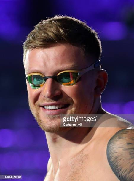 Adam Peaty of London Roar during Day Two of the International Swimming League at Aquatics Centre on November 24 2019 in London England