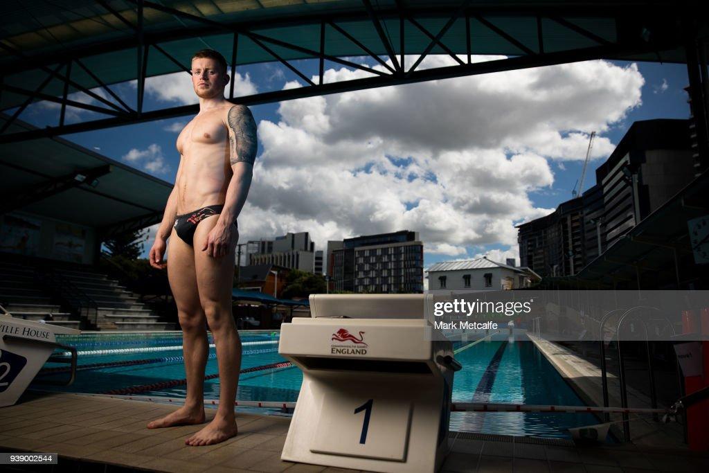 Team England Swimming Squad Prepare for 2018 Commonwealth Games