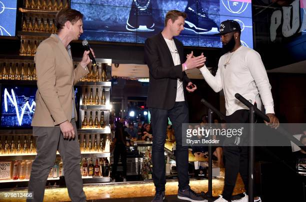 Adam Petrick Max Staiger and God Shammgod attend the PUMA Basketball launch  party at 40  d224f056c