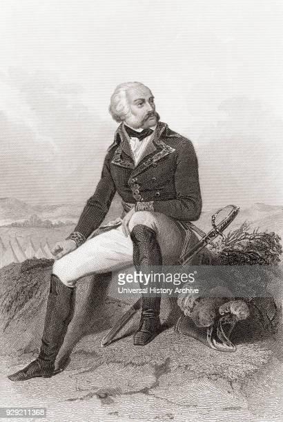Adam Philippe, Comte de Custine, 1740 – 1793. French general. From Galerie Historique de la Révolution Française, published c.1869.