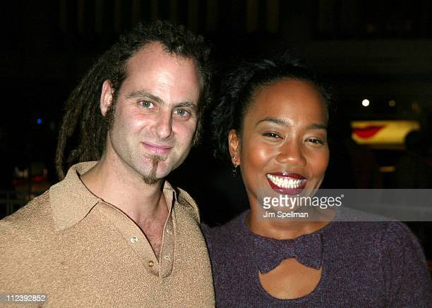 Adam Plack and Sonja Sohn during Brown Sugar New York Premiere at The Ziegfeld Theater in New York City New York United States