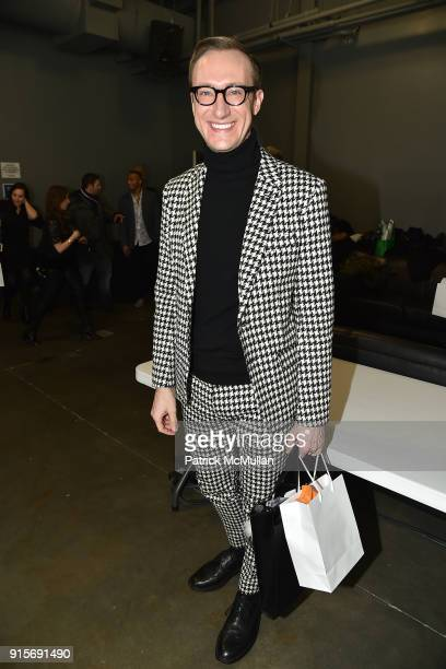 Adam Porter Smith attends The Blue Jacket Fashion Show Benefiting Prostate Cancer Foundation at Pier 59 on February 7 2018 in New York City