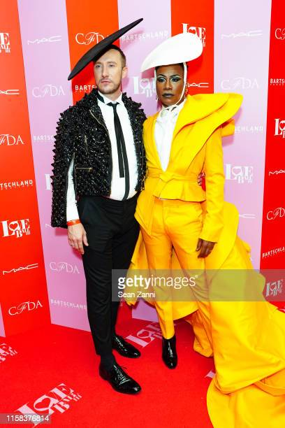 Adam PorterSmith and Billy Porter attend the LOVE Ball III Arrivals at Gotham Hall on June 25 2019 in New York City