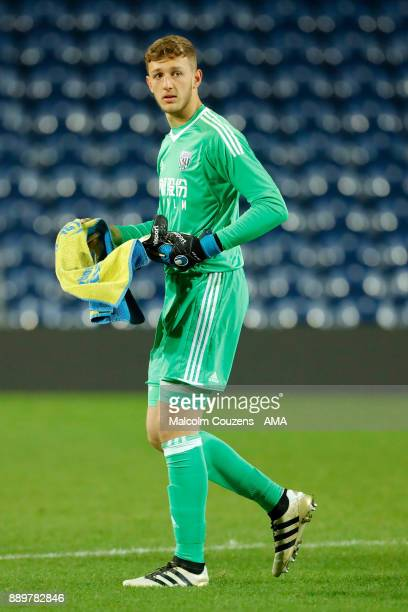 Adam Przybek of West Bromwich Albion during the FA Youth Cup game between West Bromwich Albion and Leyton Orient on December 5 2017 in West Bromwich...