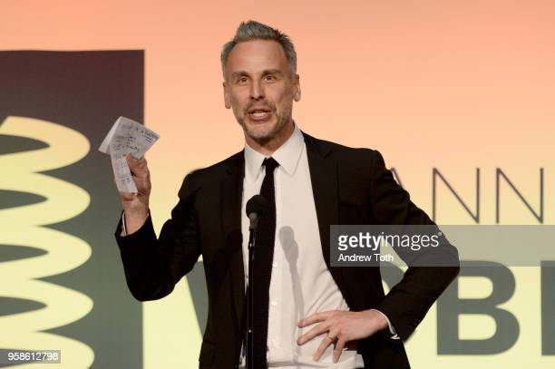 Adam Rapaport onstage at The 22nd Annual Webby Awards at Cipriani Wall Street on May 14 2018 in New York City