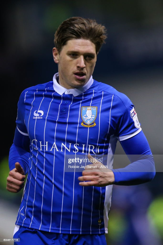 Adam Reach of Sheffield Wednesday during the Sky Bet Championship match between Sheffield Wednesday and Birmingham City at Hillsborough on February 10, 2017 in Sheffield, England.