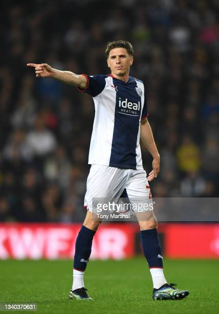 Adam Reach of West Bromwich Albion during the Sky Bet Championship match between West Bromwich Albion and Derby County at The Hawthorns on September...