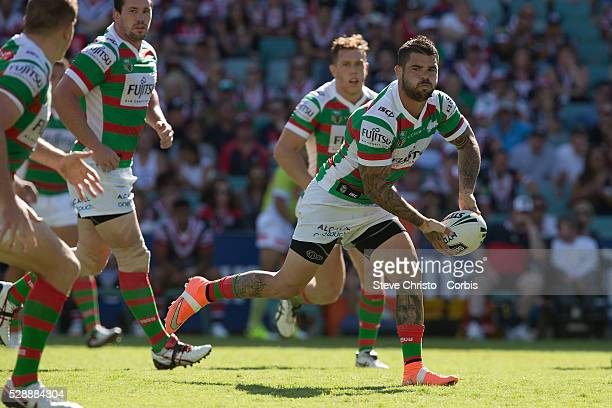 Adam Reynolds of the Rabbitohs in action against the Roosters during the match between the Sydney Roosters and the South Sydney Rabbitohs at the...