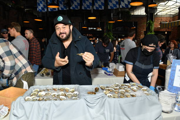 NY: Food Network & Cooking Channel New York City Wine & Food Festival presented by Capital One – Oyster Bash presented by Barnegat Oyster Collective sponsored by Modelo hosted by Adam Richman