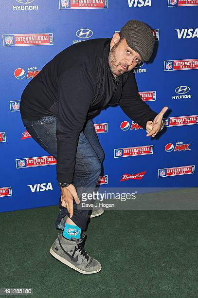Adam Richman attends the annual NFL International Series as the New York Jets compete against the Miami Dolphins at Wembley Stadium on October 4 2015...