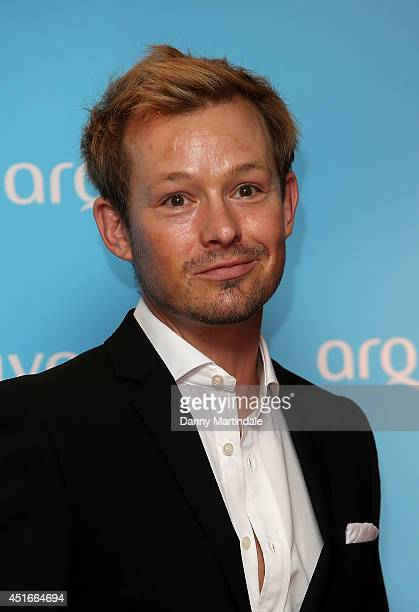Adam Rickit attends the Arqiva Commercial Radio Awards at Westminster Bridge Park Plaza Hotel on July 3 2014 in London England