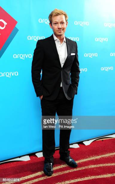Adam Rickitt arriving at the Arqiva Commercial Radio Awards at the Westminster Bridge Park Plaza Hotel London