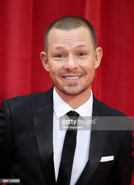 Adam Rickitt attends the British Soap Awards 2018 at Hackney Empire on June 2 2018 in London England