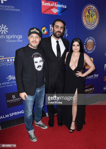 Adam Rifkin artistic director of the Palm Springs International Film Festival Michael Lerman and Ariel Winter attend the 29th Annual Palm Springs...