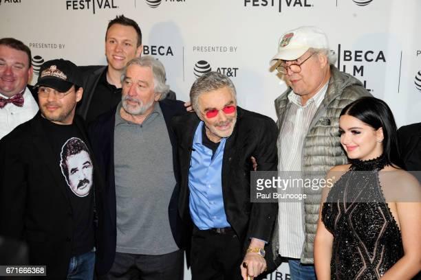 Adam Rifkin Robert De Niro Burt Reynolds Chevy Chase and Ariel Winter attend 'Dog Years' Premiere 2017 Tribeca Film Festival at Getty Images PHOTO...