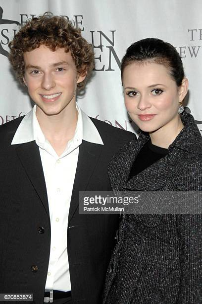 Adam Rippon and Sasha Cohen attend Skating with the Stars Under the Stars at Wollman Rink on March 31, 2008 in New York City.