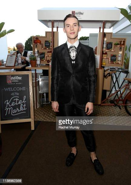 Adam Rippon at the Ketel Market at the 30th Annual GLAAD Media Awards Los Angeles in partnership with longstanding LGBTQ ally Ketel One FamilyMade...