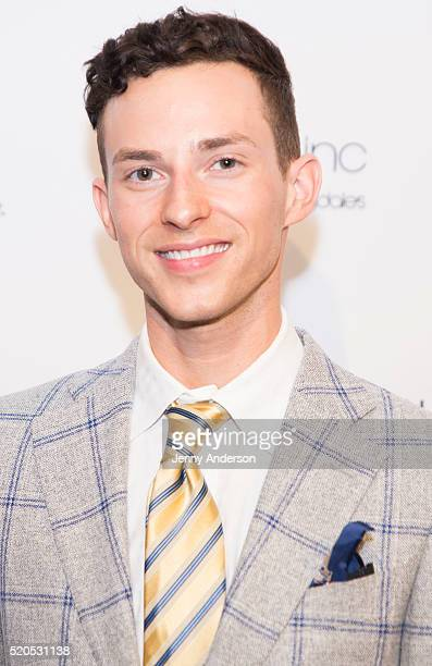 Adam Rippon attends 11th Annual Skating With The Stars Gala at 583 Park Avenue on April 11 2016 in New York City