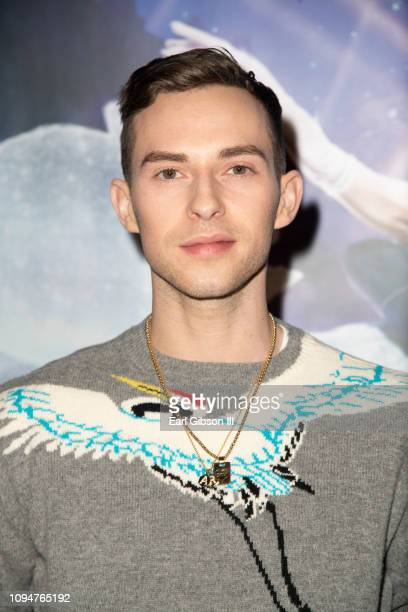 Adam Rippon attends Center Theatre Group Matthew Bourne's Cindereall Opening Night Performance at Ahmanson Theatre on February 6 2019 in Los Angeles...