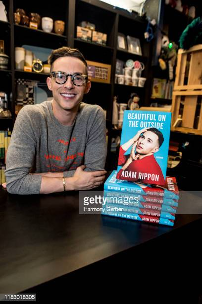 Adam Rippon attends his book signing for Beautiful On The Outside at Book Soup on October 23 2019 in West Hollywood California